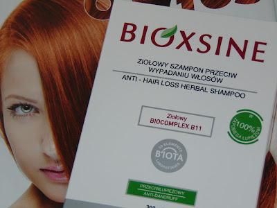 Bioxsine, ziołowy szampon przeciw wypadaniu włosów/przeciwłupieżowy
