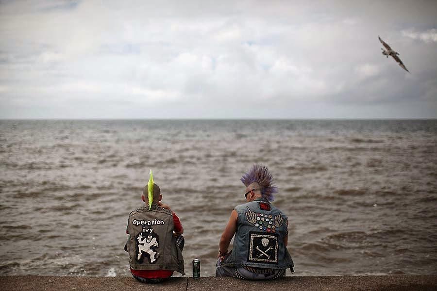 Punk on holidays