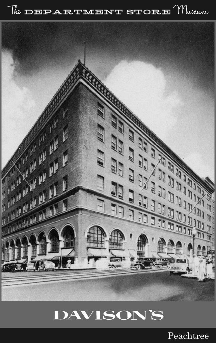 Davison's Department Store : davison's, department, store, Davison-Paxon, Atlanta, Department, Store, Museum