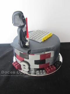 bolo lego doces opções bragança star wars