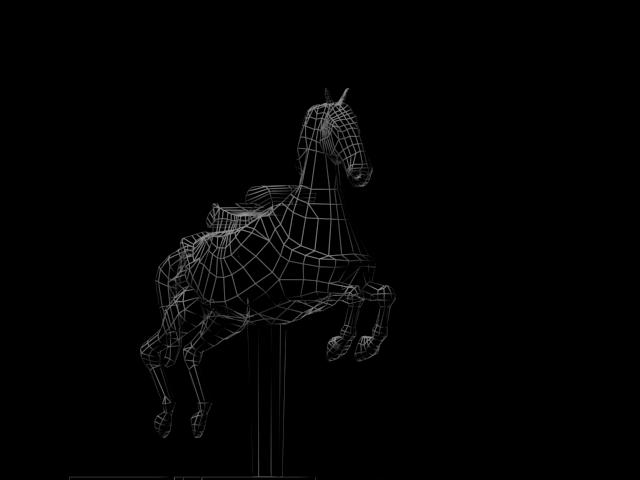 ИΛΥΣR. : 3D Carousel Horse Modeling