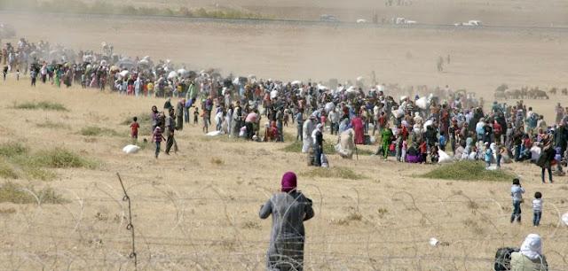 """Τρία εκατομμύρια οι """"πρόσφυγες"""" στην Τουρκία με προσδοκία στη δύση"""