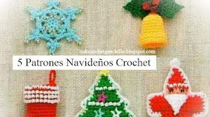 5 Patrones Crochet para Navidad