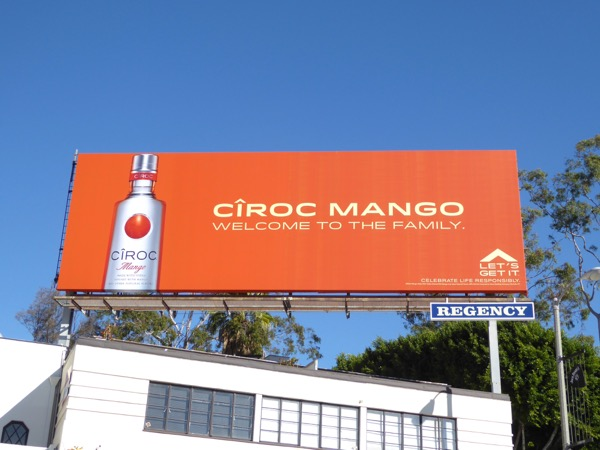 Ciroc Mango Vodka billboard