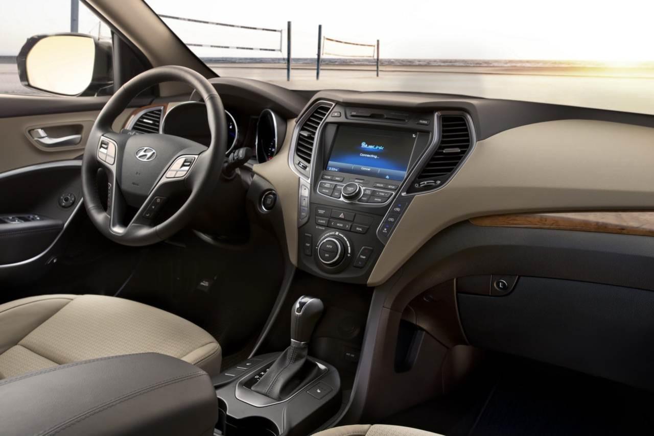 Nova Hyundai Veracruz 2014   Grand Santa Fé 7 Lugares   Interior