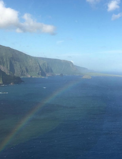 Maui Blue Hawaiian helicopter ride rainbow