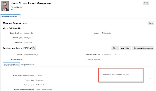 Nullify fields using Oracle Cloud HCM web services