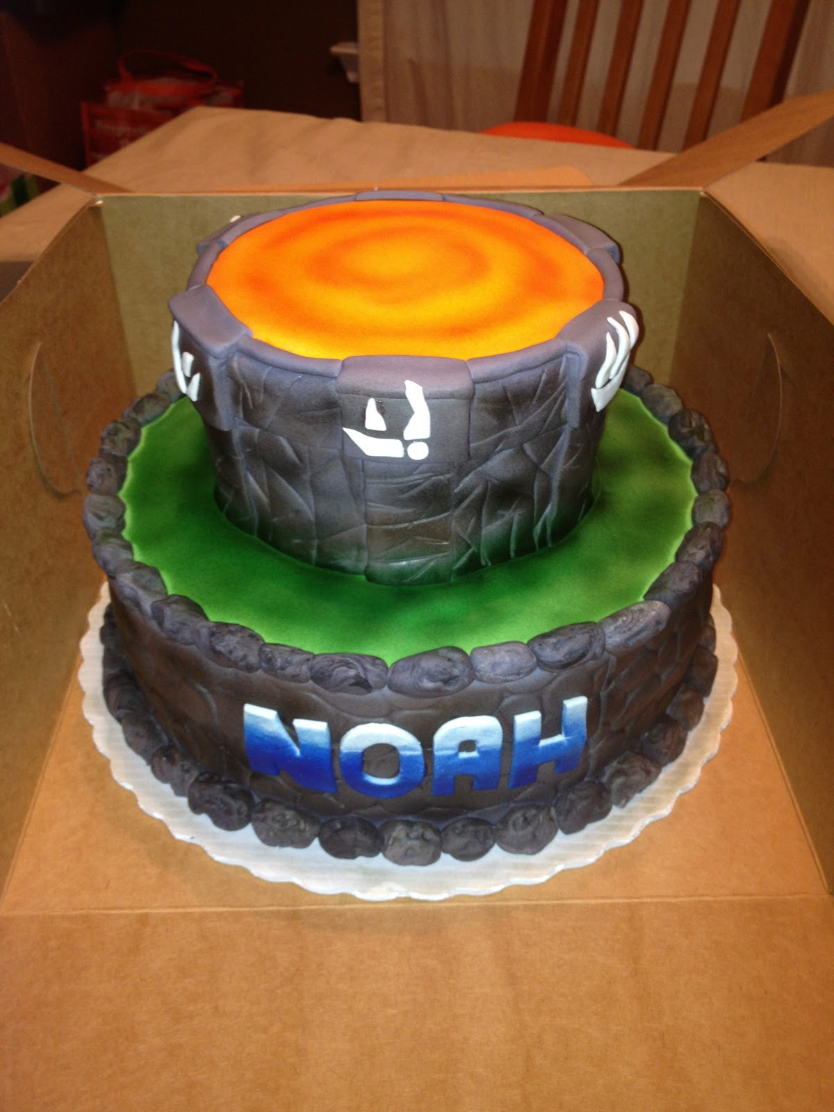 Give Me Some Sugar Noah S Skylander Cake