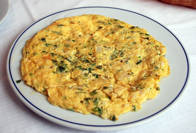 Recette Omelette au Poulet