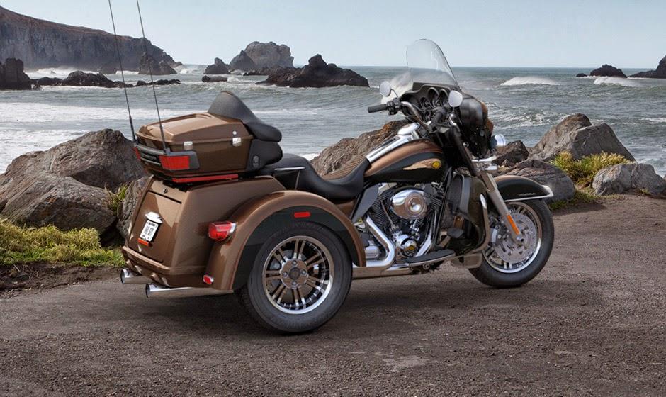 Harley-davidson Tri Glide Ultra Classic Latest Bikes