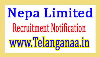 Nepa Limited Recruitment Notification 2017