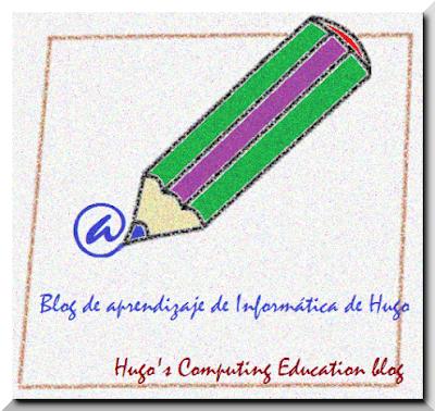 Haz clic aquí para dirigirte al Blog de aprendizaje de Informática de Hugo