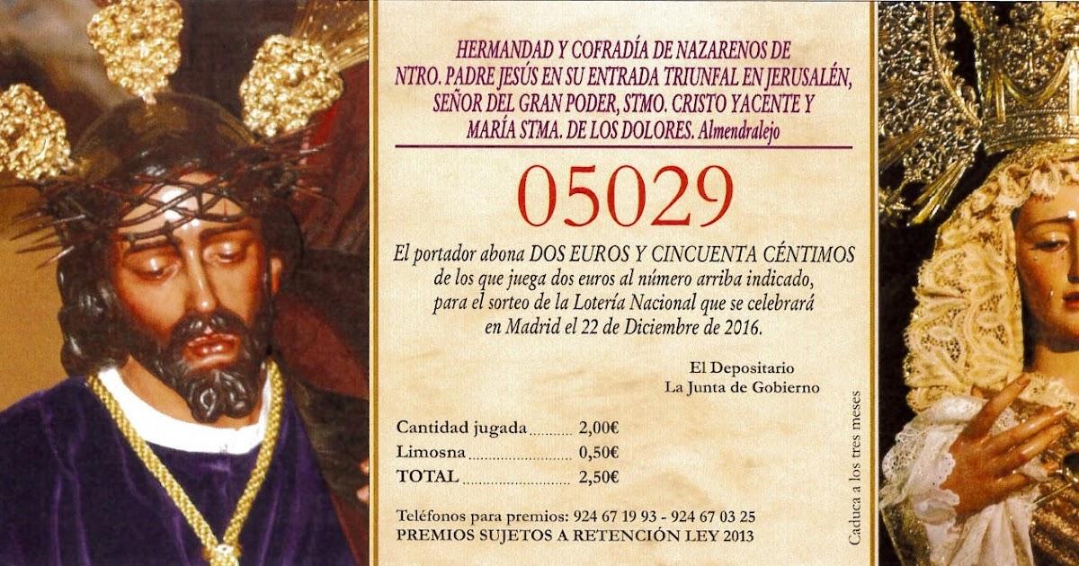 Gran poder loteria de navidad for Muebles el zamorano