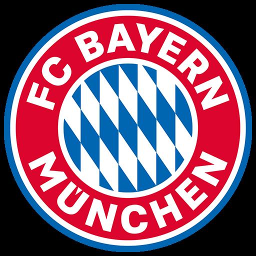 Fútbol: Imágenes del escudo del Bayern de Múnich de Alemania