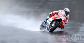 MotoGP Malaysia: Dovizioso Tercepat Pemanasan, Rossi Ketiga