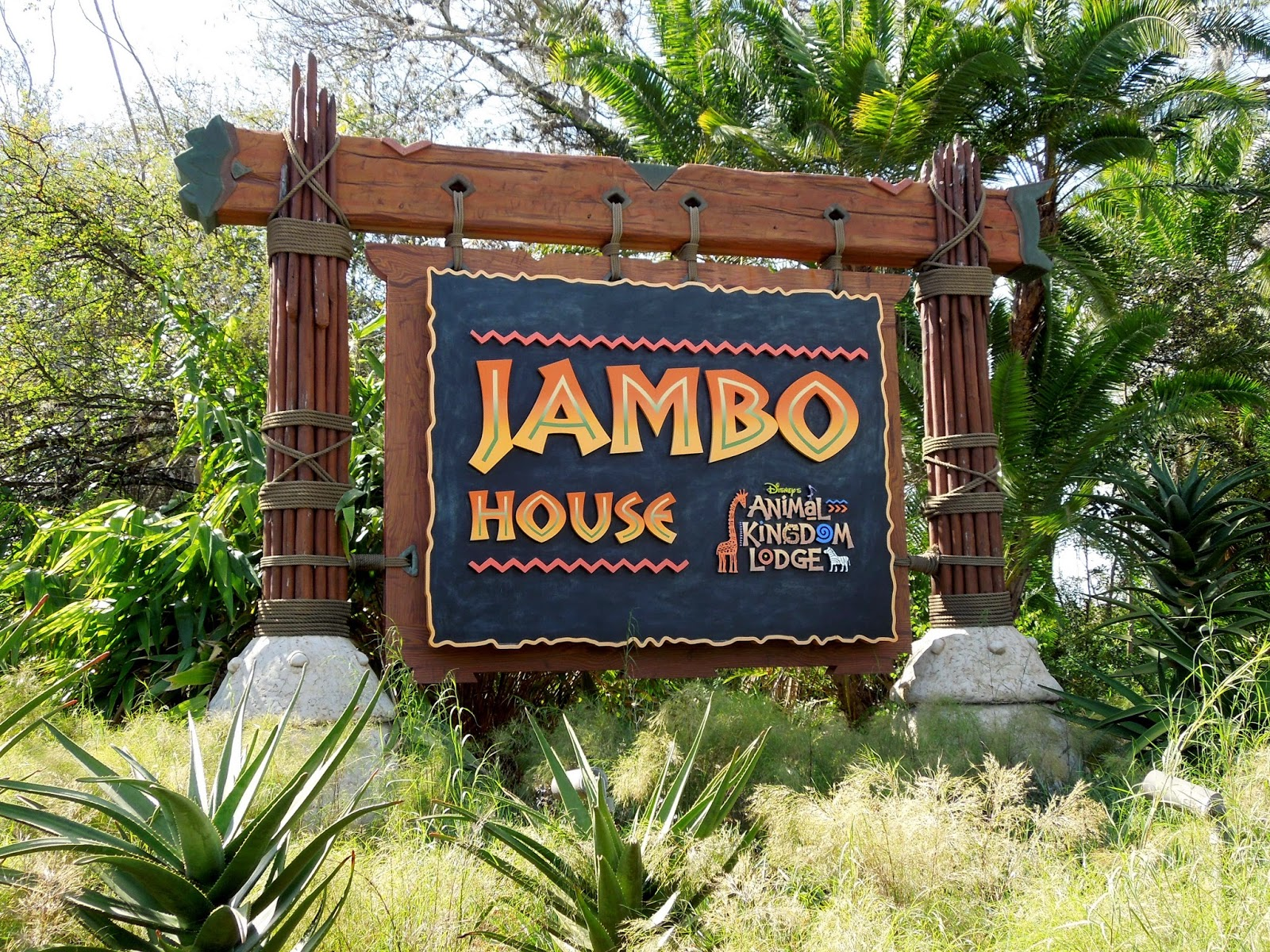 Jambo House sign