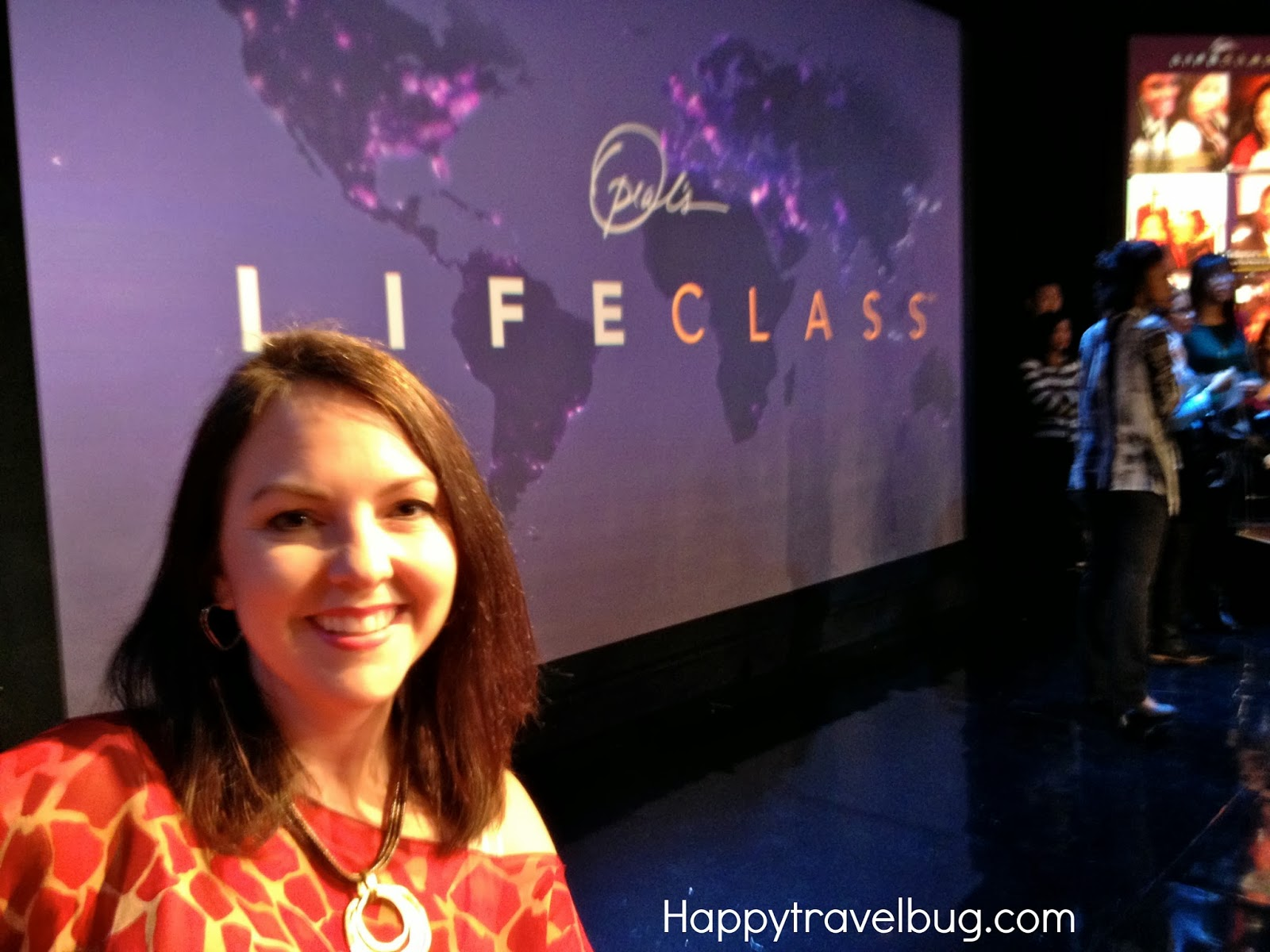 Me at Harpo Studios for a taping of Lifeclass on OWN