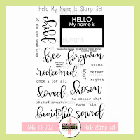 http://www.sweetnsassystamps.com/creative-worship-hello-my-name-is-clear-stamp-set/