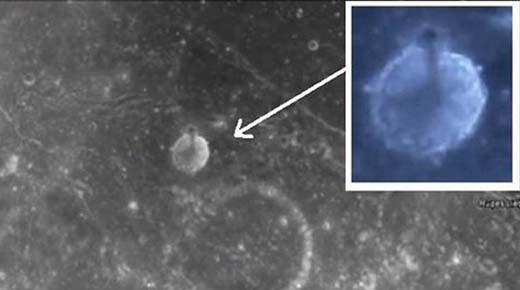 Cazadores de OVNIs encuentran masiva torre de 5 kilometros de altura sobre la Luna