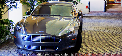 Aston Martin Rapide Front photo credit by MikeTroy Photography