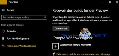 Windows 10 programme Windows Insider
