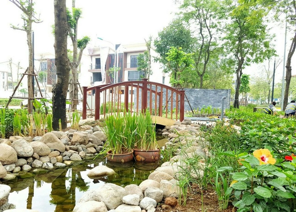 Không gian xanh là điểm nhấn của dự án Gamuda Gardens