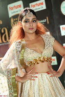 Apoorva Spicy Pics in Cream Deep Neck Choli Ghagra WOW at IIFA Utsavam Awards 2017 21.JPG