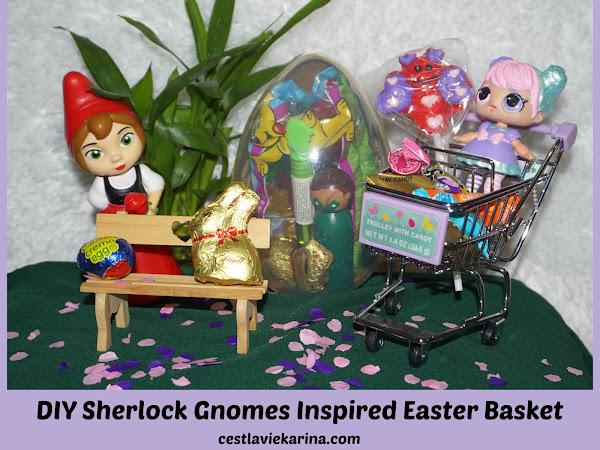 DIY SHERLOCK GNOMES INSPIRED EASTER BASKET