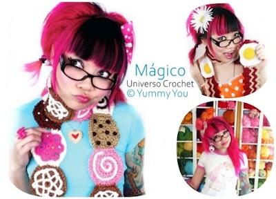 El mágico universo tejido de Twinkie Chan