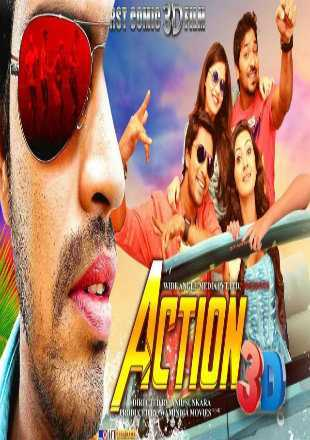 Action 3D 2018 Hindi Dubbed Movie Download HDRip 720p