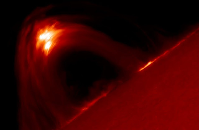 Researchers find that the sun's magnetic field is ten times stronger than previously believed