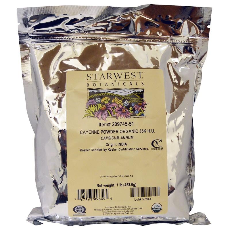 www.iherb.com/pr/Starwest-Botanicals-Organic-Cayenne-Powder-35K-H-U-1-lb-453-6-g/22542?rcode=wnt909