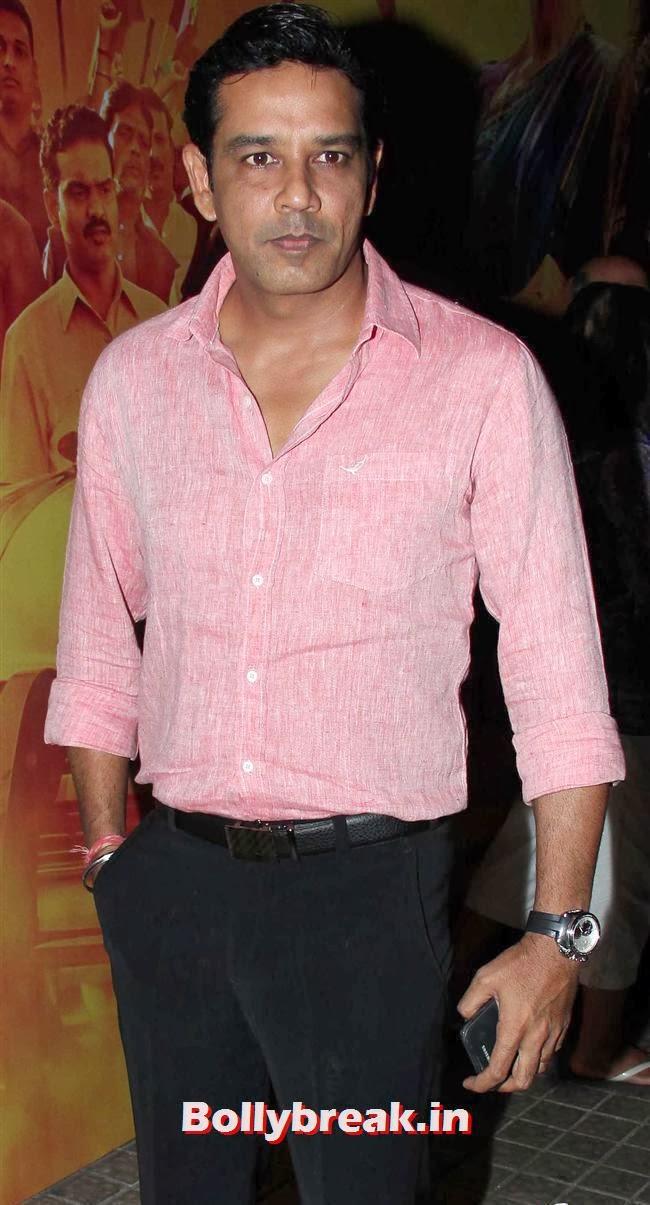 Anup Soni at Special Screening of Gulaab Gang at pvr juhu, Gulaab Gang Movie Premiere Pics