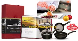 Logo Con Parmalat Chef vinci pentole Ballarini, cene stellate o weekend  con Chef