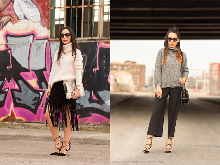 BLogger de moda valenciana con los zapatos mas bonitos Aquazzura