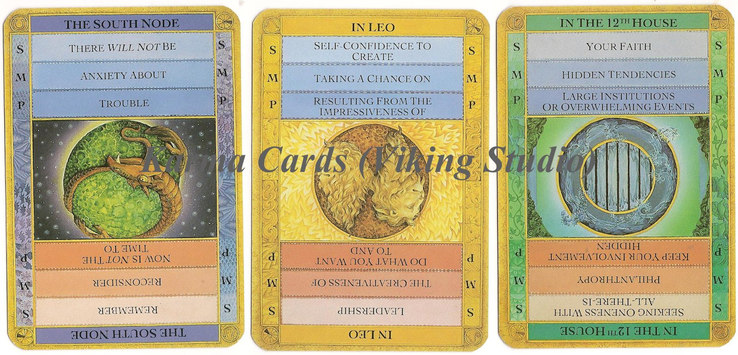 Tarot Notes: A Reading with Karma Cards