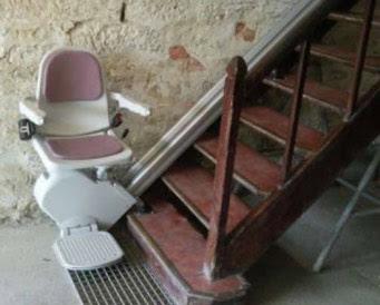 monte escalier occasion prix