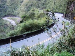Sequência de Curvas na Estrada da Serra do Rio do Rastro