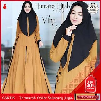 Jual RRJ305D147 Dress Vira Syari Wanita Wd Terbaru Trendy BMGShop