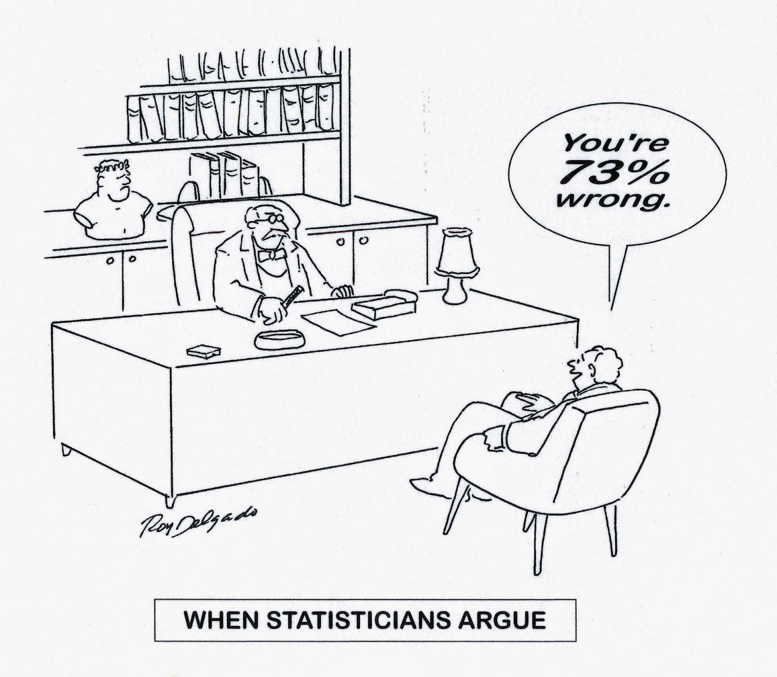 BishopBlog: Percentages, quasi statistics and bad arguments