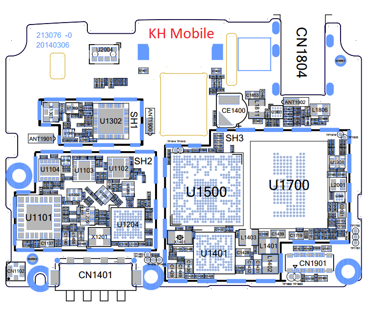 Oppo R1001 Schematic & Layout Diagrams  JMH