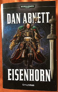 Portada de la edición ómnibus de Eisenhorn, de Dan Abnett