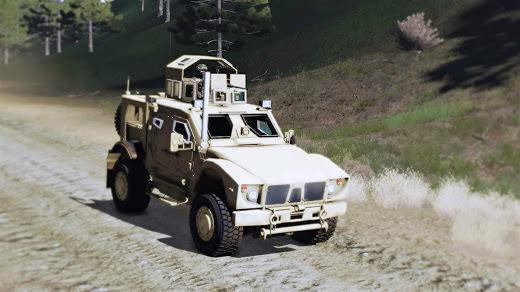 Arma3用のOshkosh M-ATV MOD