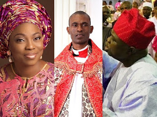 ambode wife vs Venerable Femi Taiwo
