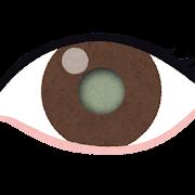 白内障の目のイラスト