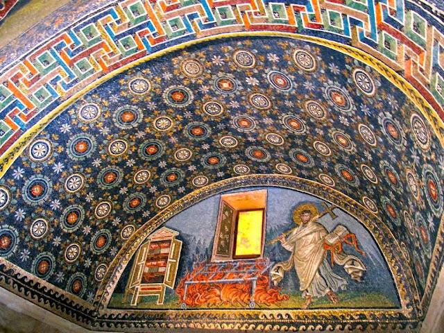 Mausoleu de Gala Placidia, Ravenna, Itália