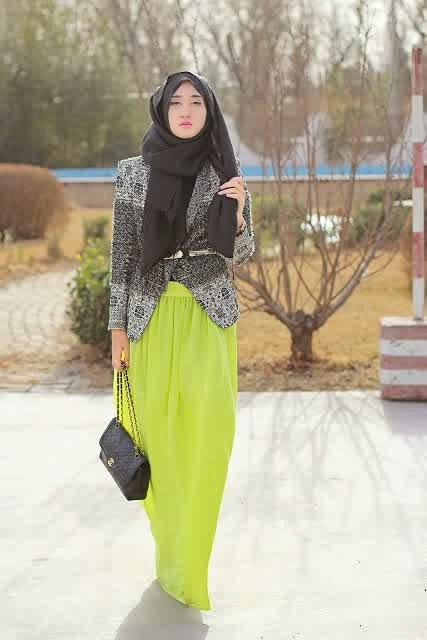 Model Baju Muslim Blazer Wanita Keren dan Gaul