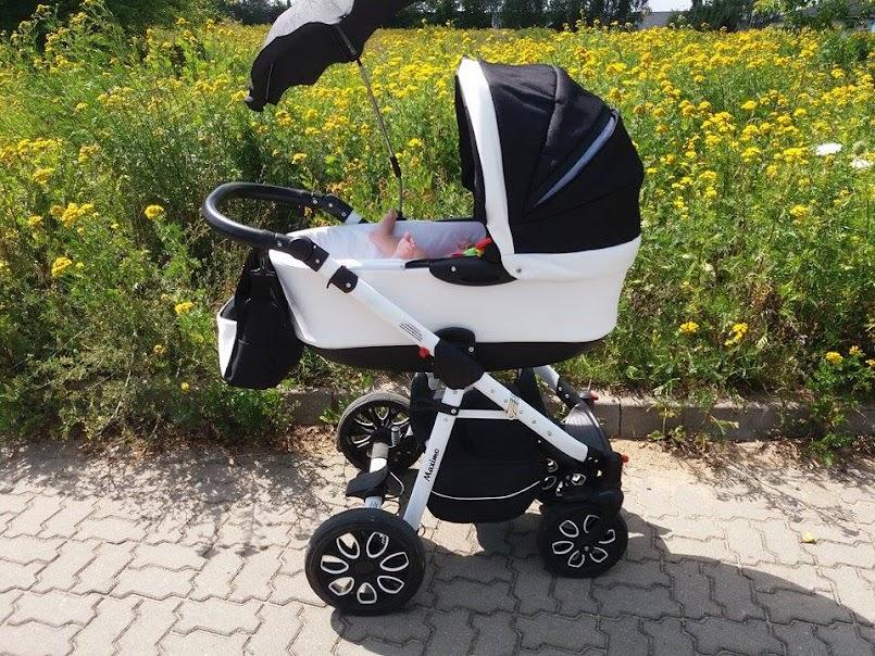 recenzja wózka: gondola Maximo