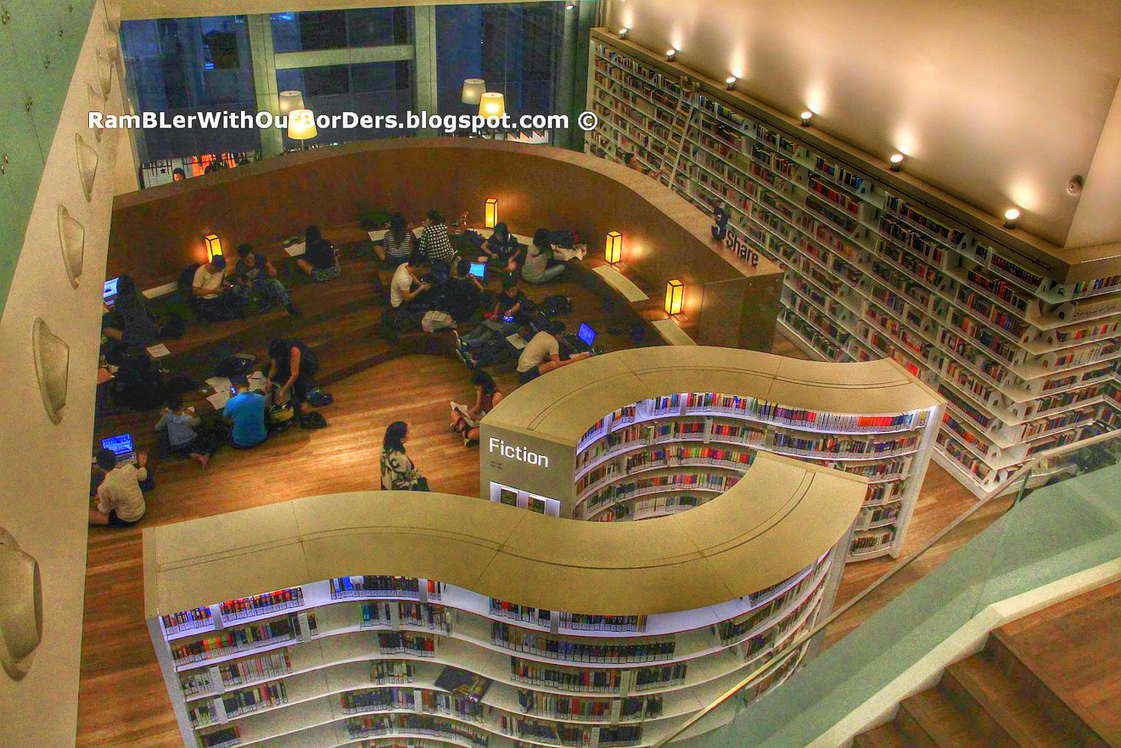 Library@Orchard, Orchard Gateway, Singapore