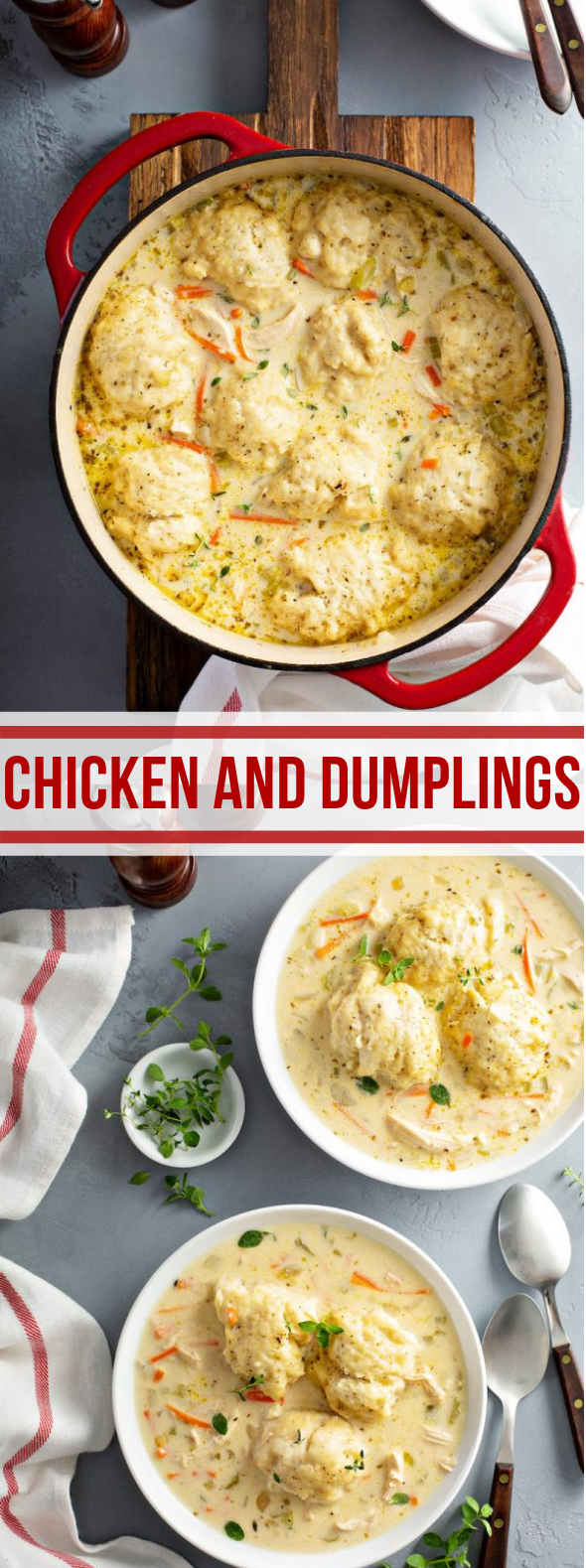 CHICKEN AND DUMPLINGS #familydinner #southernfood